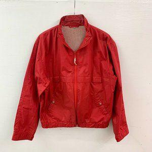 Vintage 1970s Lakeland Full Zip Windbreaker Jacket